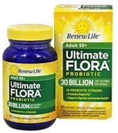ReNew Life - Ultimate Flora Senior Formula 30 Billion - 60 Vegetarian Capsules (631257158659)