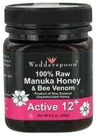Wedderspoon Organic - 100% Raw Organic Manuka Honey & Bee Venom Active 12+ - 8.8 oz.