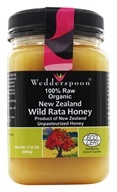 Image of Wedderspoon Organic - 100% Raw Organic New Zealand Wild Rata Honey - 17.6 oz.