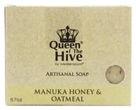 Image of Wedderspoon Organic - Mankua Honey & Oatmeal Bar Soap - 6.7 oz. Formerly Omaderm Body Bar