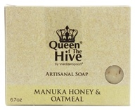 Wedderspoon Organic - Mankua Honey & Oatmeal Bar Soap - 6.7 oz. Formerly Omaderm Body Bar