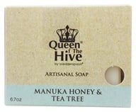 Wedderspoon Organic - Mankua Honey & Tea Tree Bar Soap - 6.7 oz. Formerly Manuka Medi Body Bar (094922669360)