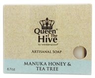Wedderspoon Organic - Mankua Honey & Tea Tree Bar Soap - 6.7 oz. Formerly Manuka Medi Body Bar
