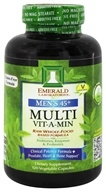 Emerald Labs - Men's 45+ Multi Vit-A-Min Raw Whole-Food Based Formula - 120 Vegetarian Capsules (743650003228)