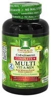 Emerald Labs - Complete + Multi Vit-A-Min Raw Whole-Food Based Formula - 60 Vegetarian Capsules (743650003204)