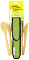 Image of To-Go Ware - RePEaT Bamboo Reusable Utensil Set Avocado Green