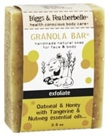 Biggs & Featherbelle - Granola Bar Handmade Natural Soap Oatmeal & Honey with Tangerine & Nutmeg Essential Oils - 3.5 oz. LUCKY DEAL - $2.99
