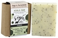 Image of Biggs & Featherbelle - Koala Bar Handmade Natural Soap Eucalyptus, Tea Tree & Spearmint Essential Oils - 3.5 oz.