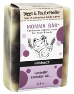 Biggs & Featherbelle - Momma Bar Handmade Natural Soap Lavender Essential Oil - 3.5 oz.