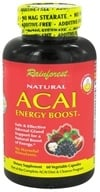 Rainforest - Natural Acai Energy Boost - 60 Vegetarian Capsules by Rainforest
