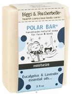 Biggs & Featherbelle - Polar Bar Handmade Natural Soap Eucalyptus & Lavender Essential Oils - 3.5 oz. LUCKY DEAL