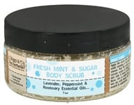Image of Biggs & Featherbelle - Body Scrub Fresh Mint & Sugar - 7 oz.