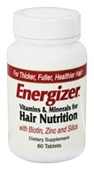 Hobe Labs - Energizer Vitamins & Minerals for Hair Nutrition - 60 Tablets, from category: Nutritional Supplements
