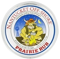 Nantucket Off-Shore - Prairie Rub Seasoning for Grilling Steaks and Burgers - 2.75 oz. by Nantucket Off-Shore