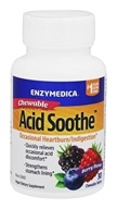 Enzymedica - Acid Soothe Berry Flavor - 30 Chewable Tablets