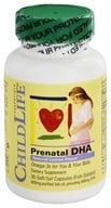 Child Life Essentials - Prenatal DHA Natural Lemon Flavor 500 mg. - 30 Softgels, from category: Vitamins & Minerals