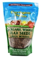 Carrington Farms - Flax Seeds Whole Organic - 15 oz. (742392720004)