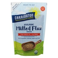 Carrington Farms - Flax Seeds Milled Organic - 14 oz.