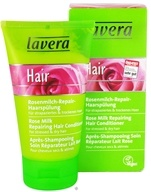 Image of Lavera - Conditioner Repairing For Stressed & Dry Hair Rose Milk - 5 oz.