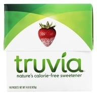Truvia - Nature's Calorie Free Erythritol Sweetener - 140 Packet(s) by Truvia