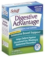 Image of Schiff - Digestive Advantage Intensive Bowel Support - 32 Capsules