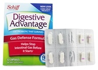 Schiff - Digestive Advantage Gas Defense Formula - 32 Capsules