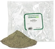 Image of Frontier Natural Products - Black Pepper Fine Grind - 1 lb.