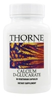 Thorne Research - Calcium D-Glucarate 500 mg. - 90 Vegetarian Capsules - $40.50