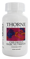 Thorne Research - Children's Basic Nutrients - 180 Vegetarian Capsules (693749010074)
