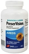 Bausch & Lomb - PreserVision AREDS Formula - 240 Tablet(s), from category: Nutritional Supplements