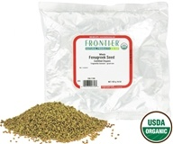 Frontier Natural Products - Fenugreek Seed Whole Organic - 1 lb. - $7.27