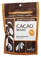 Image of Navitas Naturals - Cacao Raw Chocolate Beans Certified Organic - 8 oz.