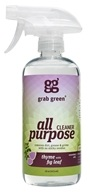 GrabGreen - All Purpose Surface Cleaner Thyme with Fig Leaf - 16 oz. CLEARANCE PRICED