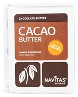 Navitas Naturals - Cacao Power Raw Butter Certified Organic - 16 oz., from category: Health Foods