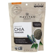 Image of Navitas Naturals - Sprouted Chia Powder Certified Organic - 8 oz.