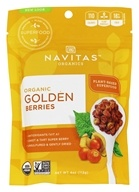 Navitas Naturals - Golden Berries (Gooseberries) Certified Organic - 4 oz., from category: Health Foods