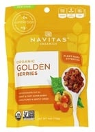 Navitas Naturals - Golden Berries (Gooseberries) Certified Organic - 4 oz. by Navitas Naturals