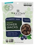 Image of Navitas Naturals - Hemp Superfood Power Snack Blueberry - 8 oz.