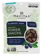 Navitas Naturals - Power Snack Hemp Superfood Blueberry - 8 oz.
