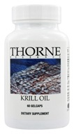 Thorne Research - Krill Oil - 60 Gelcaps, from category: Professional Supplements