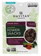 Navitas Naturals - Goji Super Food Power Snack Cacao - 8 oz. by Navitas Naturals