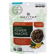 Navitas Organics - Power Snack Chia Superfood Citrus - 8 oz.