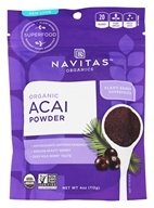 Navitas Naturals - Freeze-Dried Acai Powder Certified Organic - 4 oz. (858847000291)