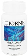 Thorne Research - Melaton 5 mg. - 60 Vegetarian Capsules