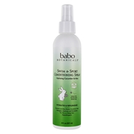 Image of Babo Botanicals - Swim and Sport Detangling Spray Cucumber Aloe Vera - 8 oz.
