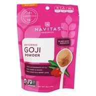 Navitas Naturals - Freeze-Dried Goji Berry Powder Certified Organic - 4 oz., from category: Nutritional Supplements