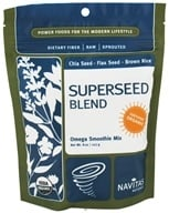 Navitas Naturals - Superseed Blend Omega Smoothie Mix Certified Organic - 8 oz., from category: Health Foods