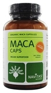 Image of Navitas Naturals - Maca Power 500 mg. - 100 Vegetarian Capsules