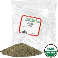 Image of Frontier Natural Products - Black Pepper Medium Grind Organic - 1 lb.