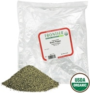 Frontier Natural Products - Black Pepper Coarse Grind Organic - 1 lb. - $18.61